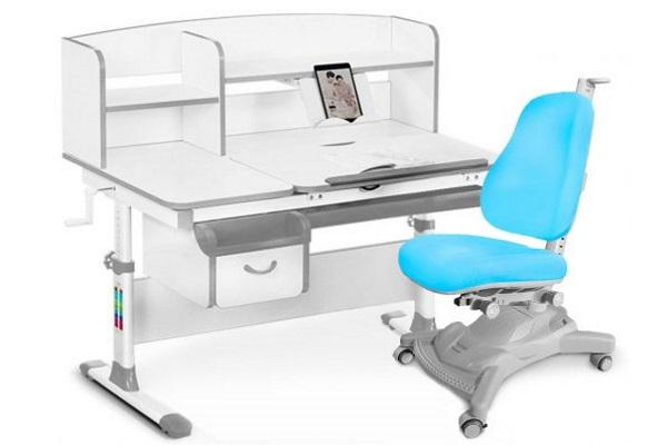 Комплект парта и кресло Mealux EVO-50 купить в салоне-студии мебели Барселона mnogospalen.ru много спален мебель Италии классические современные